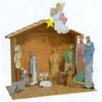 Buy cheap Paintable Nativity Scene Plans[SF-007] product