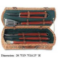 Buy cheap 5 PCS BBQ Tool set BBQ Basket from wholesalers