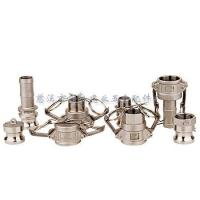 Buy cheap Camlock coupling Type A B C D E F DC DP from wholesalers