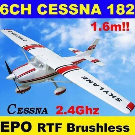 Buy cheap 1.6m RC Radio Remote Control Plane Model CESSNA 182 (TW-747-3) from wholesalers