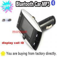 Buy cheap Car Auto MP3 Player Bluetooth FM Transmitter with display call ID from wholesalers