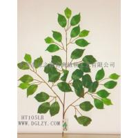 Buy cheap Artificial Curved Ficus.microcarpa leaf from wholesalers