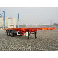 Buy cheap 3 Axles low bed semi trailer from wholesalers
