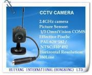 CCTV 2.4g Wireless Color SPY Pinhole Camera
