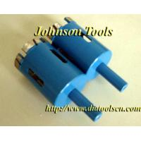 Buy cheap Diamond core drilling bits for granite with HSS from wholesalers