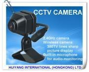 2.4g Wireless Color SPY Pinhole CCTV Camera