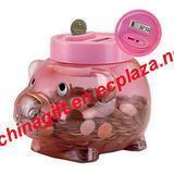 Buy cheap Perfect Solutions Digital Coin-Counting Piggy Bank from wholesalers