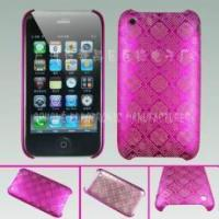 Buy cheap Rubberized Laser Carving Back Cover for iPhone 3G from wholesalers