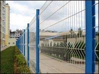 Buy cheap Plot Wire Mesh Fence from wholesalers