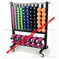 Buy cheap NEW Commercial Vinyl Dumbbells Rack FA-001A from wholesalers