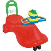 Buy cheap Swing Car with music steering and toy frisbee from wholesalers