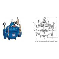 Buy cheap Hydraulic control valve 200X Pressure Reducing Valve from wholesalers