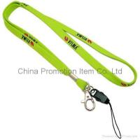 Buy cheap Lanyard with mobile strap/mobile buckle from wholesalers