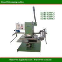Buy cheap Large-pressure Precision Hot stamping machine product