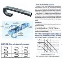 Buy cheap steel cable drag chain series from wholesalers