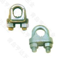 Buy cheap Rigging MALLEABLE CAST WIRE ROPE CLIPS,TYPE A from wholesalers