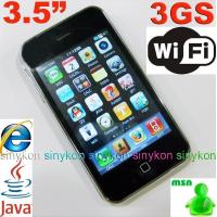 Buy cheap Hiphone 3GS 3.5 inch 3G 32GB wifi+java+PDA+MSN+Dual card smart mobile phone from wholesalers
