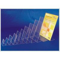 Buy cheap Acrylic sign holder Vertical T shape sign holder from wholesalers