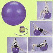 PVC Gymnastic Balls Available in 45, 55, 65, 75 and 85cm