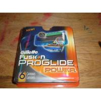 Buy cheap (NEW) 6 GILLETTE FUSION PROGlIDE POWER CARTRIDGES *USA* from wholesalers