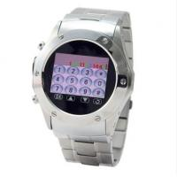 Buy cheap watch mobile phone W968--Quandband 1.3 touch screen camera BT FM from wholesalers