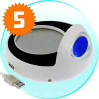 Buy cheap Cup Warmer and USB Hub with Clock from wholesalers