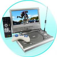 Buy cheap Portable DVD Player + DVB-T Player and Recorder from wholesalers