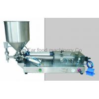 Buy cheap semi auto sauce filler (tabletop type) from wholesalers