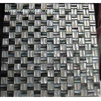 Buy cheap Convex blacklip shell tiles from wholesalers
