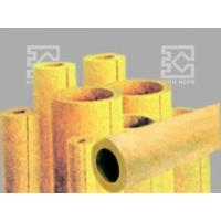 Buy cheap Rock wool (or mineral wool) pipe insulations from wholesalers