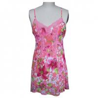 Buy cheap Nightwears Item No.:Silk Chiffon Print Chemise/SRGY-024 product