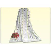 Buy cheap 6244 Jacquard Dots Velour Towelket with Dobby Hem from wholesalers