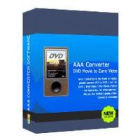 Buy cheap AAADVD Movie To Zune Video Converter from wholesalers