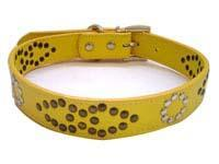 Buy cheap Leather Dog Collars (24)  Rolled Leather Dog Collar - LC-41 from wholesalers