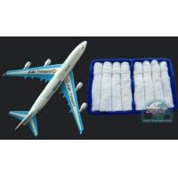 China COTTON TOWEL SERIES hot and cold disposable cotton towel for airline.101 on sale