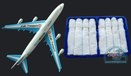 Buy cheap COTTON TOWEL SERIES hot and cold disposable cotton towel for airline.101 from wholesalers