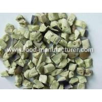 Buy cheap Freeze Dried Vegetables Freeze Dried Aubergine Diced product