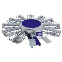 Buy cheap Automatic UV Coating Machine Multi-color Automatic Rotating Screen-printing Machine, WPKY from wholesalers