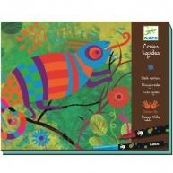 Djeco Chalk Markers Craft Kit - Up In The Trees