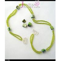 Buy cheap green shell beads Bra straps from wholesalers