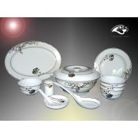 Chinese Dinner Set Dream of Ancient Loulan City(Chinese Dinner Set)