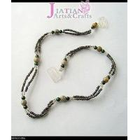 Buy cheap green stone beads Bra straps from wholesalers