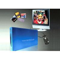 Buy cheap Audio and Video 2.5inch HDD Player with CF/MS/SM/SD/MMC Card Reader from wholesalers