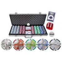 Buy cheap 500pcs chip set with Aluminum case (11.5g chips) from wholesalers