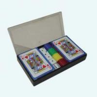 Buy cheap 44pcs poker chips set (2.5g chips) from wholesalers