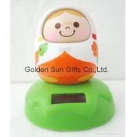 Buy cheap solar shaking head doll from wholesalers