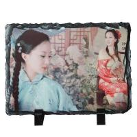 Buy cheap Sublimation Tile & Plates sublimation Photo Slate -Rectangular Stone-smallDetails product