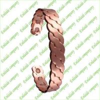 Buy cheap Copper Jewelry Copper Magnetic Bracelet from wholesalers