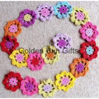 Buy cheap Crochet Flower Scarf from wholesalers