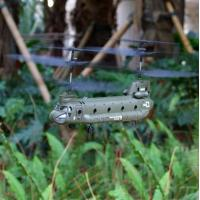Buy cheap Infrared controlled 3-channel mini chinook helicopter with gyro(indoor) from wholesalers